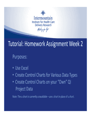internmountain healtexcel 2010 homework assignments form