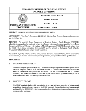 Printable tdcj inmate search parole - Fill Out & Download Online
