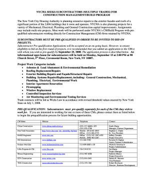 Nycha Application Online Forms And Templates Fillable Printable
