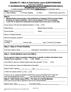 Leave Questionnaire - Fill Online, Printable, Fillable, Blank ...