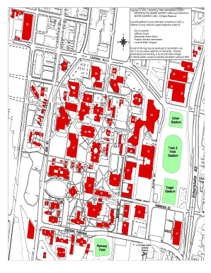 Kentucky Campus Map.Fillable Online Louisville Belknap Campus Map University Of
