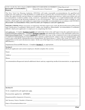 nycha job application Forms and Templates - Fillable & Printable ...