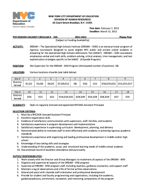 photo about Shsat Practice Test Printable referred to as Desire Shsi - Fill On the web, Printable, Fillable, Blank PDFfiller