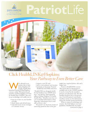 Click HealthLINK@Hopkins: Your Pathway to Even Better Care - hopkinsmedicine