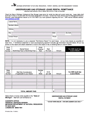 storage lease form