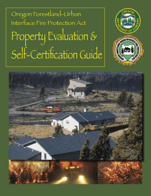 Prperty Evalucation and Self-Certification Guide - State of Oregon