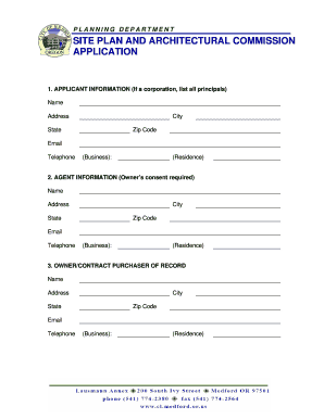 medford spac submittal form