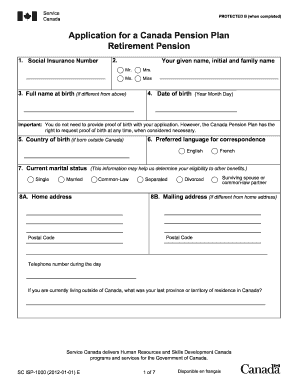 2012 Form Canada SC ISP-1000 Fill Online, Printable ...