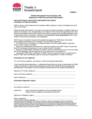 Nomination Application Form - Fill Online, Printable, Fillable