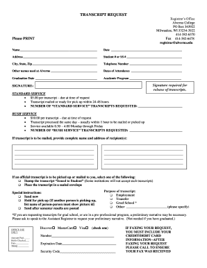 how do i get my college transcripts Forms and Templates - Fillable ...