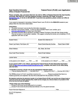 east carolina university essay applications