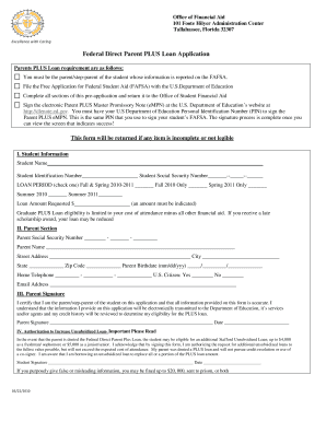 famu college board form