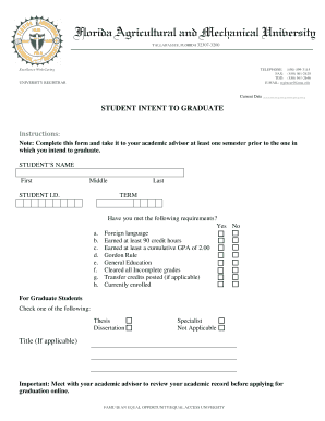 ferpa form famu  Famu 7 T Form - Fill Online, Printable, Fillable, Blank ...