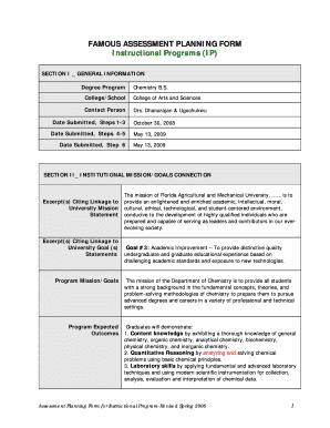 Ip Form Famu - Fill Online, Printable, Fillable, Blank | PDFfiller