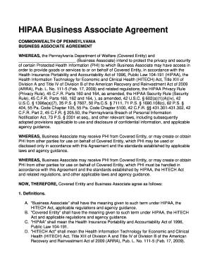28+ [ Business Associate Agreement Template 2013 ...