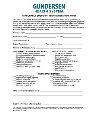 new york reasonable suspicion training non dot form