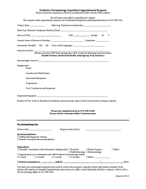 chop urology nj - Forms & Document Samples to Submit