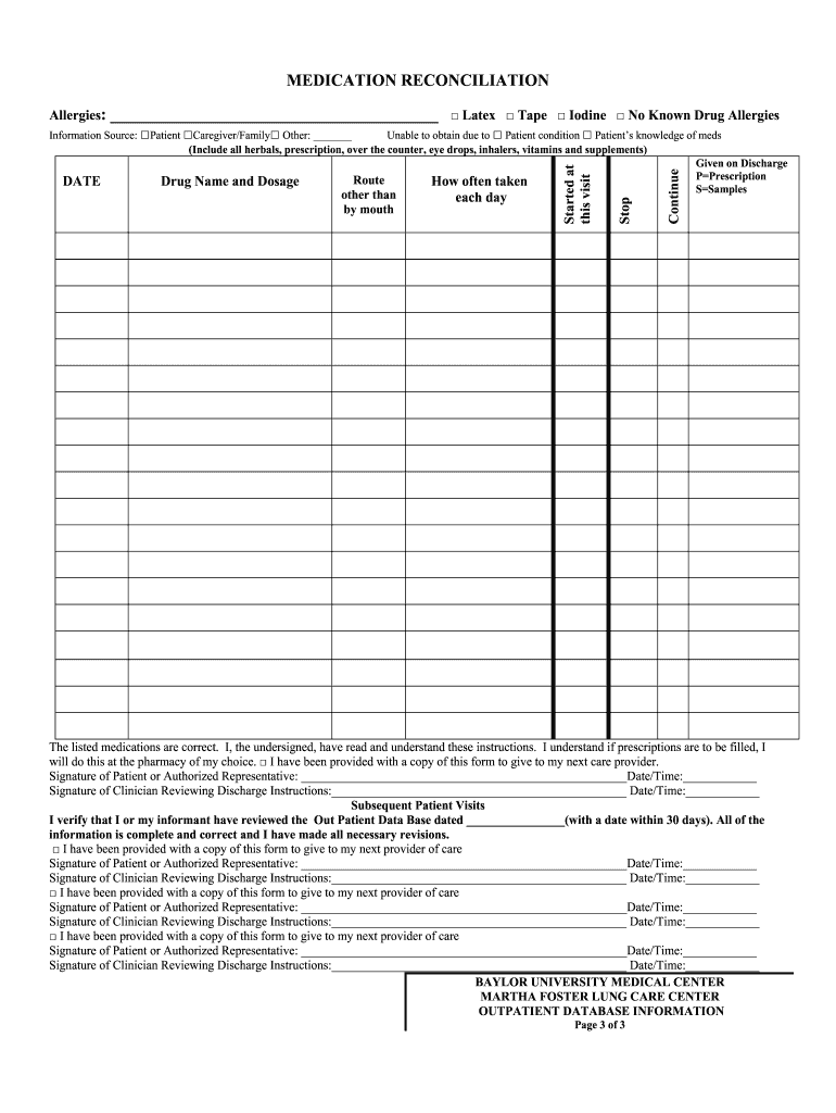 This is a graphic of Free Printable Medication Log inside medication schedule