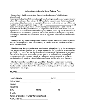 Bill Of Sale Form Indiana Model Release Form Templates - Fillable ...