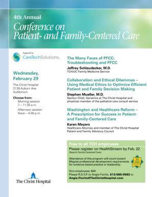 And Family-Centered Care - The Christ Hospital