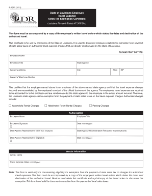 r 1376 governmental employees hotel lodging salesuse tax exemption certificate form