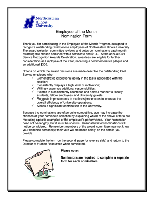 employee of the month certificate form