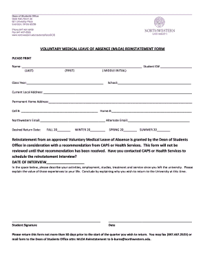 Charming Medical Leave Form Amazing Ideas