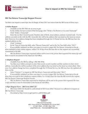 🎉 Irs transcript sample pdf | Get Transcript  2019-05-11