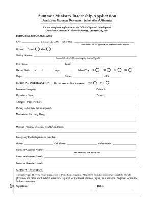 Summer internship certificate format edit print fill out summer internship certificate format summer ministry internship application point loma nazarene pointloma yadclub Choice Image