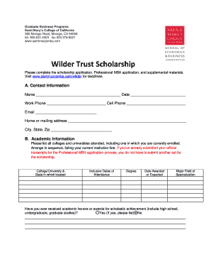 20 Printable recommendation letter for scholarship from ...
