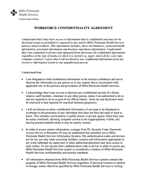 Confidentiality Agreement Forms | 68 Printable Confidentiality Agreement Template Forms Fillable