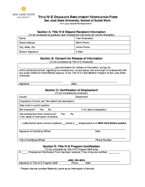 employment verification request letter
