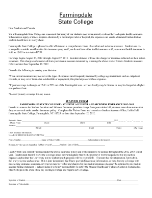 24 Printable Medical Insurance Waiver Form Templates Fillable