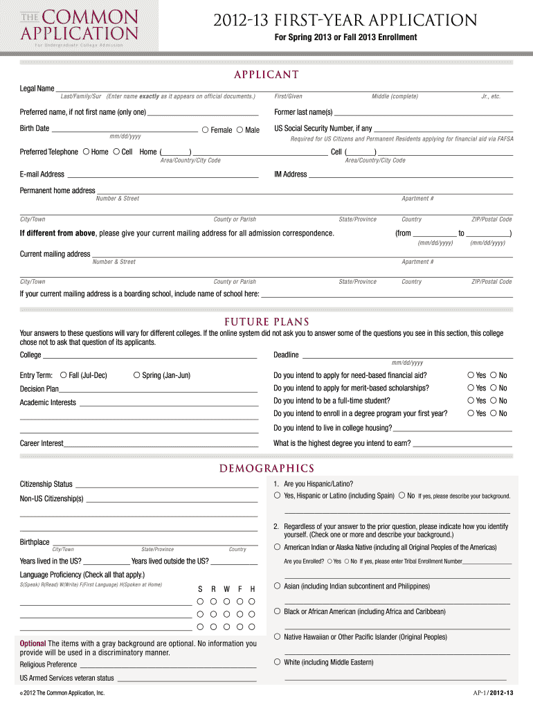 photo regarding Common Application Printable titled Well-liked Computer software Packet - Fill On line, Printable, Fillable