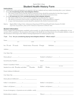 new patient form template