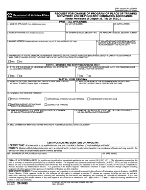 Va Form 22 5495 Fillable - Fill Online, Printable, Fillable, Blank ...