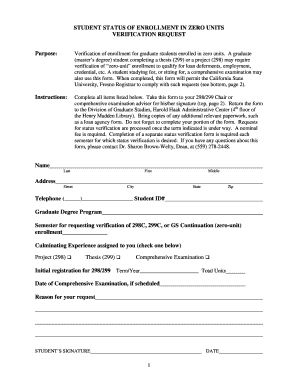 Fillable Online fresnostate Emergency Contact Form.doc ...