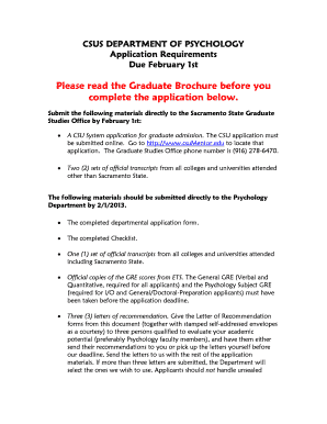 Fillable Online csus Letter of Recommendation Form - California ...