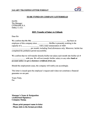 employee transfer letter to Download - Editable, Fillable