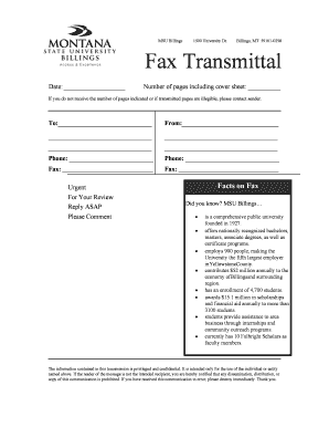 Do you include fax cover sheet in number of pages to