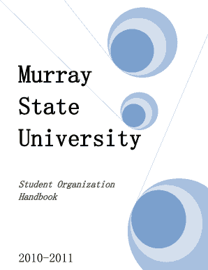 Sample Meeting Agenda Name of Organization Date: Time: Place - murraystate