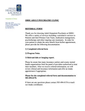 Fillable Online ohsu OHSU letterhead (three-color) - ohsu Fax ...