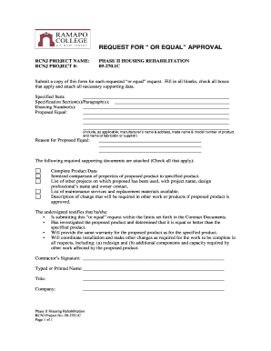 Csi Request For Substitution Form - Fill Online, Printable ...