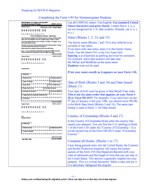 cbp i-94 Forms and Templates - Fillable & Printable Samples for ...