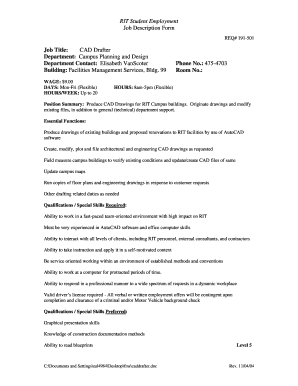 Editable autocad drafter cover letter sample - Fill, Print ...