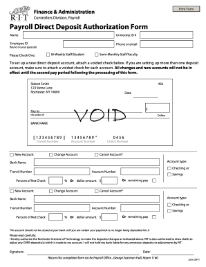 Lfillable Voided Check - Fill Online, Printable, Fillable, Blank ...