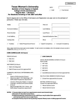 Printable English lesson plan template pdf - Fill Out