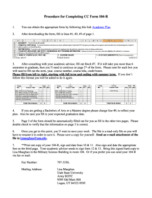 Fill Out Cc 104r Online - Fill Online, Printable, Fillable, Blank ...