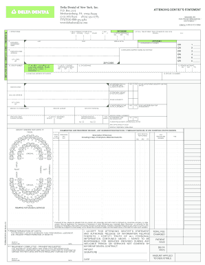 delta dental claim form