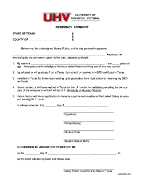 Bill of sale form texas residency affidavit templates fillable residency affidavit state of texas county of before me the undersigned notary public on thecheapjerseys Gallery